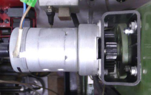 Getriebemotor Z-Säule