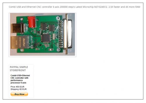 USB-Ethernet-Combikontroller
