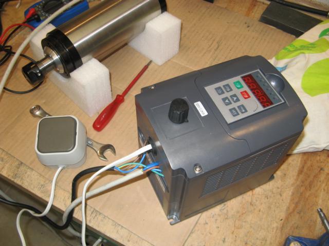 Umbau des Frequenzumrichters 01