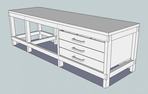 werkbank plannen universal spanntisch werkbank mit klemmen klappbar durch den kauf meiner. Black Bedroom Furniture Sets. Home Design Ideas